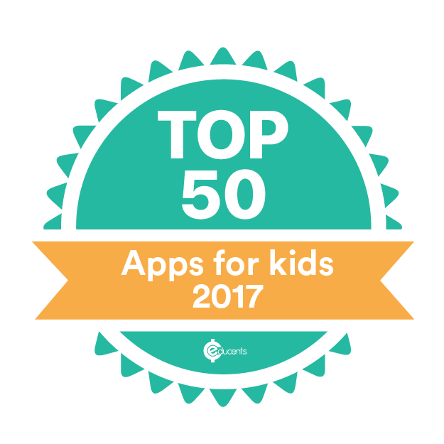 Top 50 Apps for Kids 2017